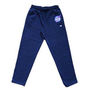 Custom NASA/Champion Patch Track Pants